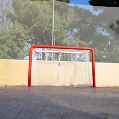 completati i lavori sulla pista di pattiaggio della pineta san Francesco per hockey su rotelle