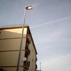 al via il montaggio dei corpi illuminanti su otto strade del quartiere San Paolo