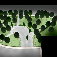 nuova pubblica illuminazione in tutti i Municipi lavori giardino Amprino render