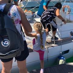 vacanze sociali oggi le prime veleggiate lungo la costa