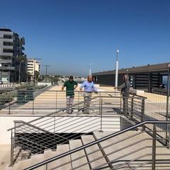 stamattina nuovo sopralluogo dellass Galasso sul waterfront di San Girolamo