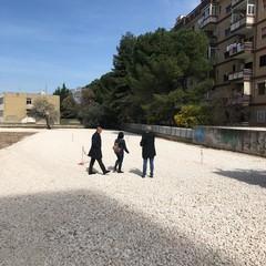cantieri in corso a servizio delle scuole Santomauro e Carrante