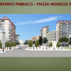 Pirp San Marcello render area esterna Erp