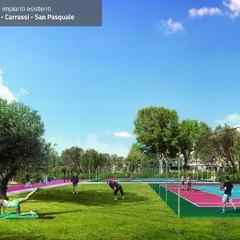 Rendering playground all'aperto