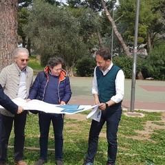 playground cittadini al via il cantiere del primo nel parco Giugno