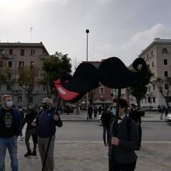 La protesta dei ristoratori a Bari