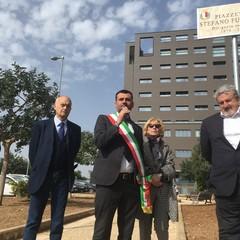 intitolazione piazzetta Stefano Fumarulo