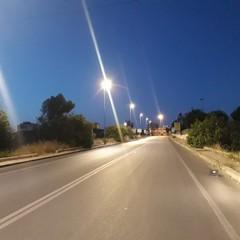 nuova illuminazione viale Europa