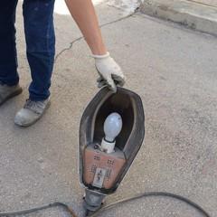 al via questa mattina le operazioni di sostituzione dei corpi illuminanti in oltre strade di Carbonara