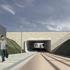raddoppio linea ferroviaria Policlinico SantAndrea sottopasso