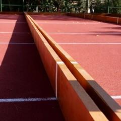 completati i lavori per la riqualificazione del campo da bocce nel parco Giugno
