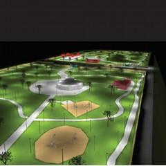 nuovi impianti di illuminazione e videosorveglianza alla pineta san francesco render