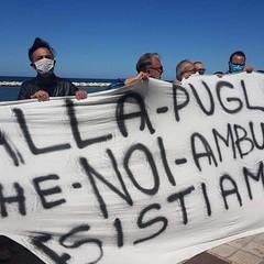 protesta ambulanti