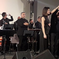 Simona Molinari e la Jazz Studio Orchestra