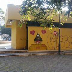 I disegni di Pao in piazza Garibaldi