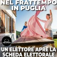 I meme sulla scheda per le regionali in Puglia