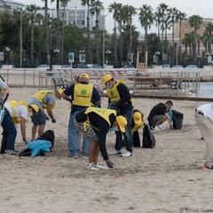 settembre spiaggia Pane e Pomodoro I volontari al lavoro