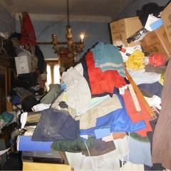 sequestro appartamento rifiuti