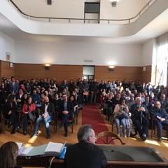 stamattina la stipula del contratto per nuovi assunti al Comune di Bari