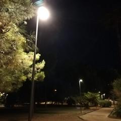 Illuminazione pineta San Francesco