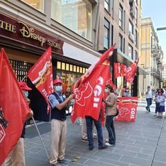 sciopero lavoratori disney store