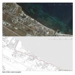 progetto itinerario ciclopedonale strada del baraccone stato di fatto e di progetto
