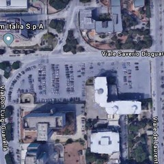 Lavori parcheggio via Dioguardi