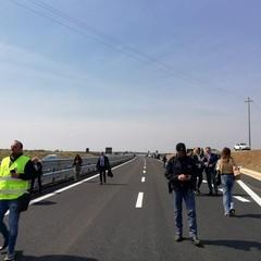 Inaugurazione primo tratto della Bari-Matera