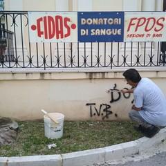 vandali goccia di latte