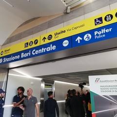 Apre il nuovo sottopassaggio di Bari centrale