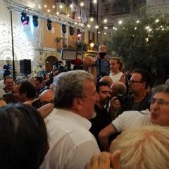 La festa di Emiliano a Bari Vecchia