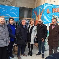 Il dono dei Lions al muro della solidarietà di InConTra