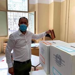 Andrea dAgosto al voto