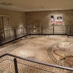 Bari sotterranea mosaico Timoteo JPG