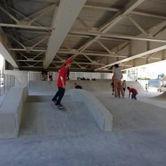 Il playground del ponte Adriatico