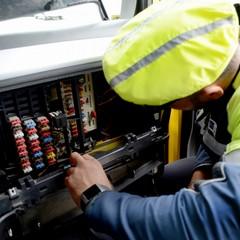 centralina alterata camion