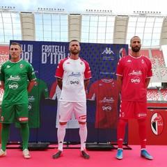 Le maglie della SSC Bari stagione 2021/2022