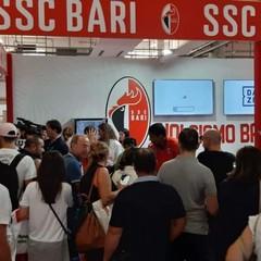 Inaugurazione stand ssc Bari in fiera