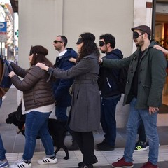Il Flash Mob in via Sparano
