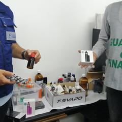sequestro sigarette elettroniche di contrabbando