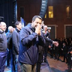 Matteo Salvini a Bari per Fabio Romito