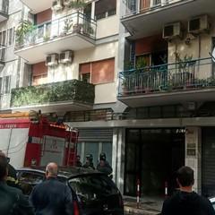 L'incendio in corso Mazzini