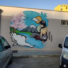 I murales al mercato di corso Mazzini