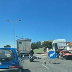 Il traffico in tangenziale