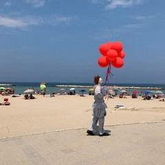 pennywise in spiaggia a bari