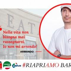 La campagna dei dipendenti Eataly a Bari