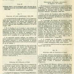 La Gazzetta Ufficiale del agosto Larticolo riporta listituzione del Politecnico di Bari