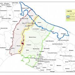 la mappa della Xylella nel Barese