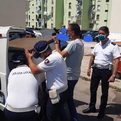 polizia locale sequestro abusivi