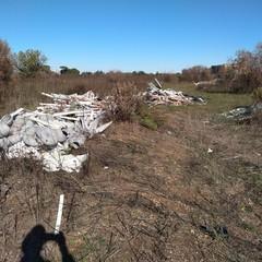 I rifiuti trovati dai Rangers di Bari